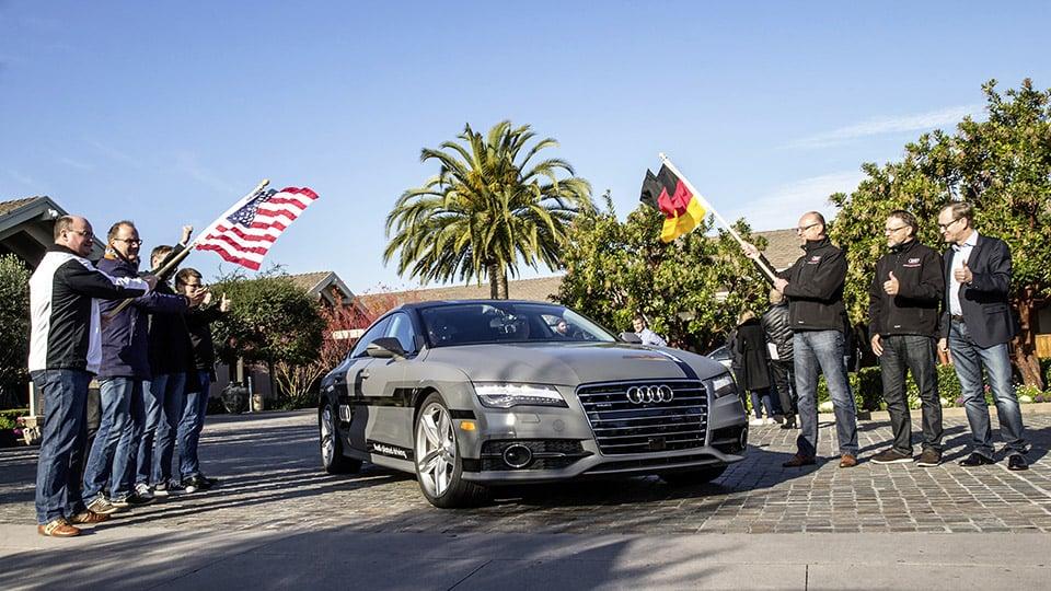 Audi's Autonomous A7 Drives 550 Miles to CES