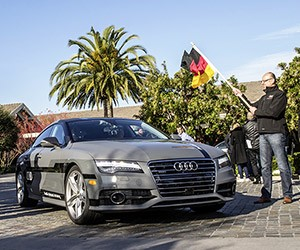Audi's Autonomous A7 Drives 550 Miles to CES