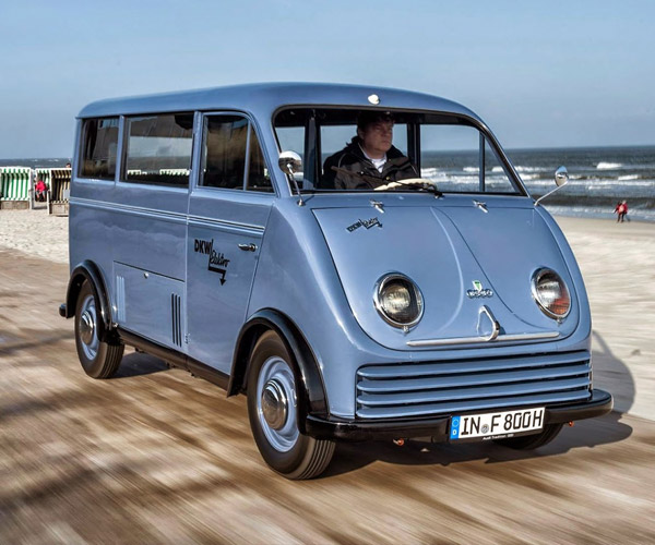 Audi Restores 1956 DKW Electric Van