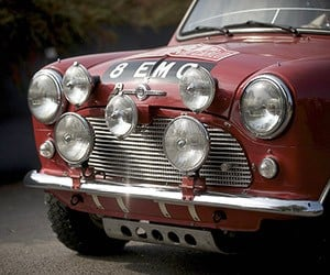 Awesome Car Pic: Classic MINI Cooper Rally Car