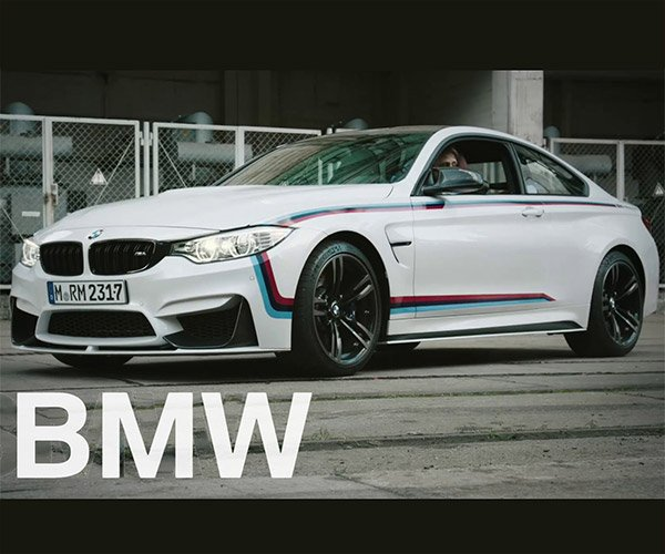 BMW Shows off the M4 with M Performance Parts