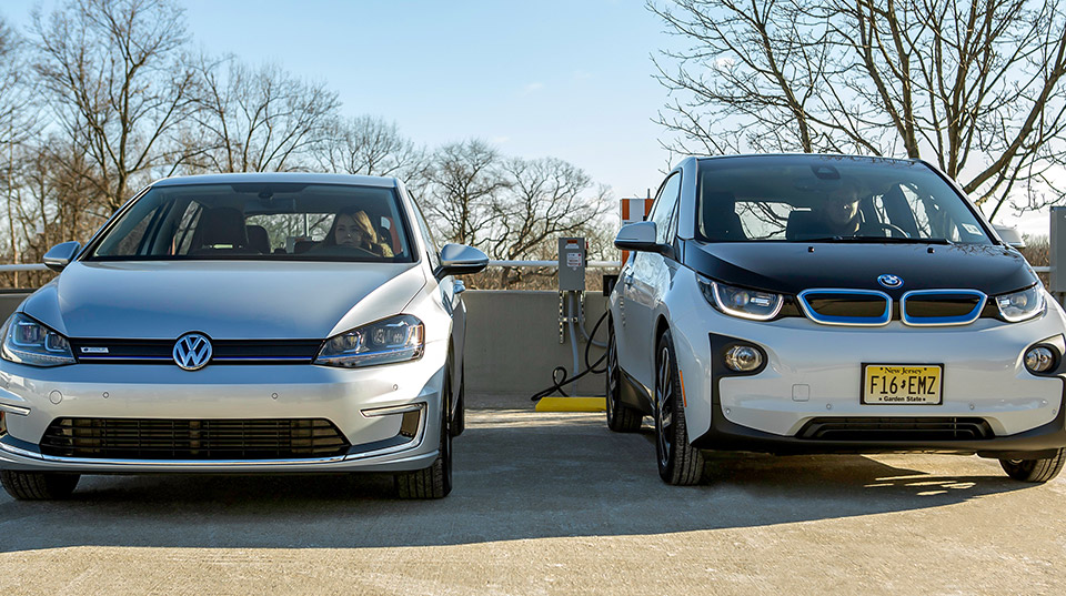 BMW and VW Team up to Install 100+ EV Chargers
