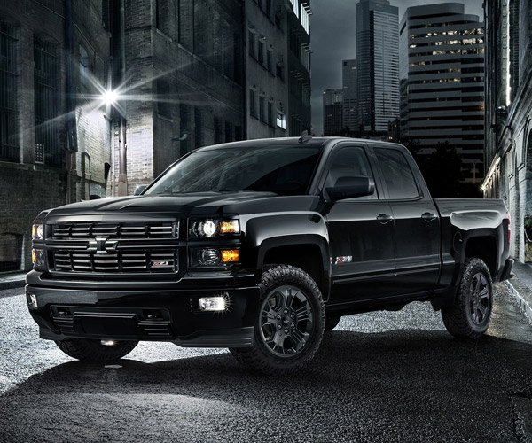 Chevy Silverado Midnight Edition Drops Cover