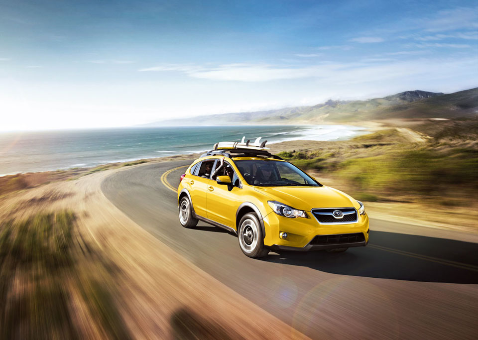 Subaru XV Crosstrek Special Edition is Extra Yellow