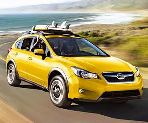 Subaru XV Crosstrek Special Edition is Extra Yellow
