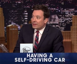 Jimmy Fallon: The Pros and Cons of Self-Driving Cars