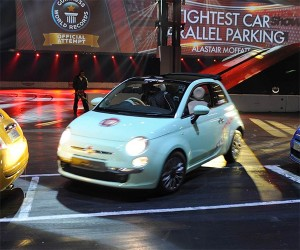 Fiat 500 Sets World's Record for Parallel Parking