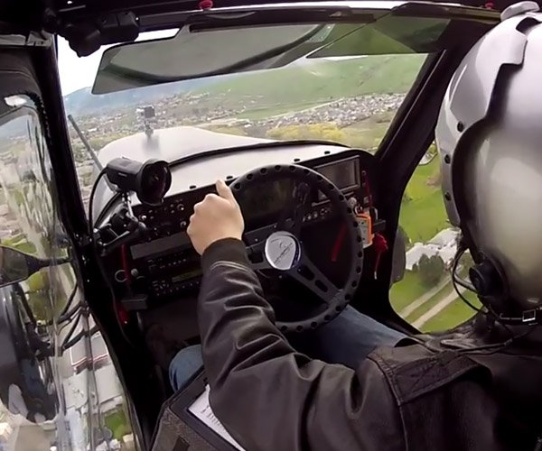 Sit Inside the Cockpit of a Flying Car