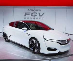 Honda FCV Concept Heading to Japan Market