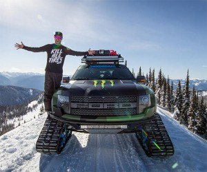 Ken Block Shows off His RaptorTRAX Ford F-150