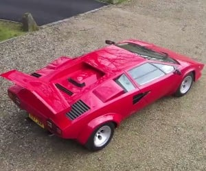 Lamborghini Countach 5000: '80s Awesome