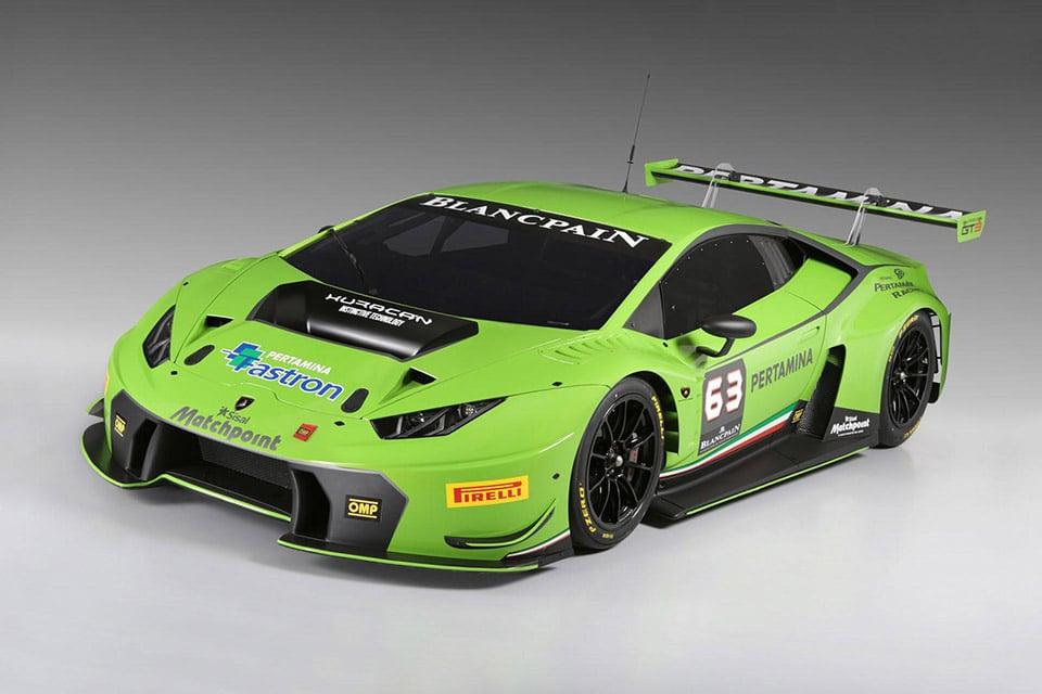 Lamborghini Unveils Huracán GT3 Racer
