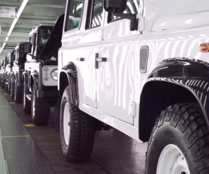 Watch Land Rover Defenders Get Built by Hand