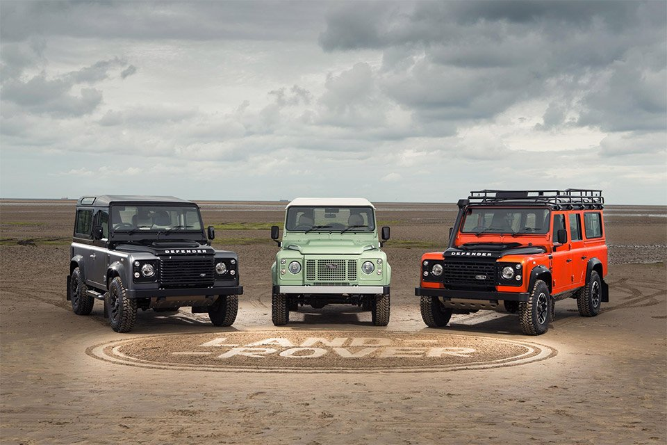 Land Rover Unveils Three Defender Special Editions