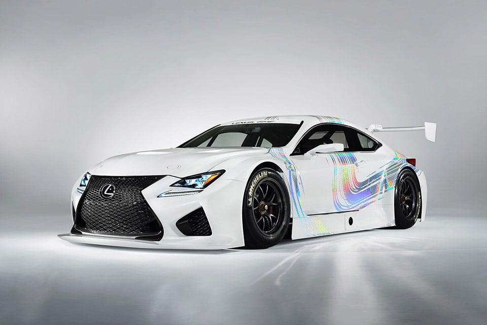 Lexus Shows off RC F GT3 Race Car