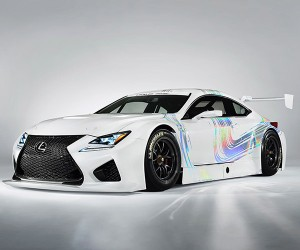 Lexus Shows off RC F GT3 Race Car