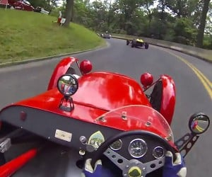 POV Racing in a 1959 Lotus 7