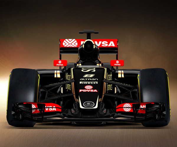 Lotus E23 Hybrid F1 Car Unveiled