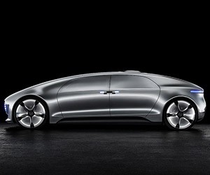 Mercedes-Benz Unveils F 015 Concept at CES 2015