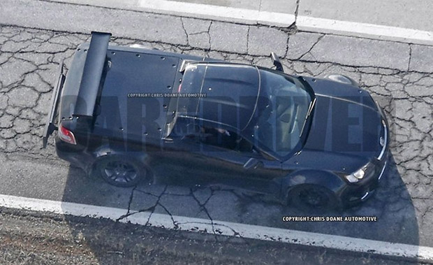 Spy Shots Show Possible Mid-Engine Corvette Mule