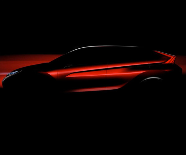 Mitsubishi Teases New Crossover Concept