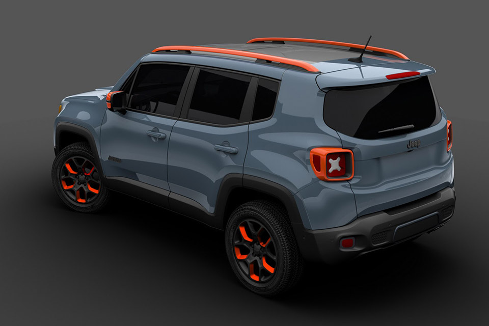 Mopar S Jeep Renegade Concepts Head To Detroit 95 Octane
