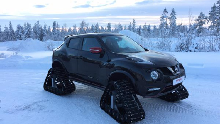 Nissan Europe Built This Amazing Tracked Juke Nismo 95