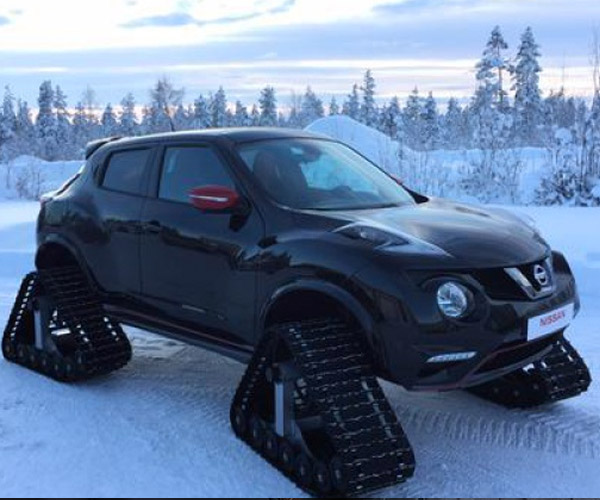 Nissan Europe Built This Amazing Tracked Juke NISMO