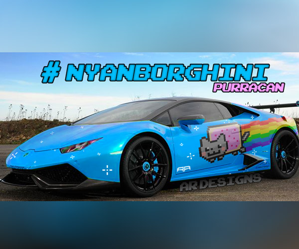 The Purrari Is Gone: All Hail The Nyanborghini Purracan
