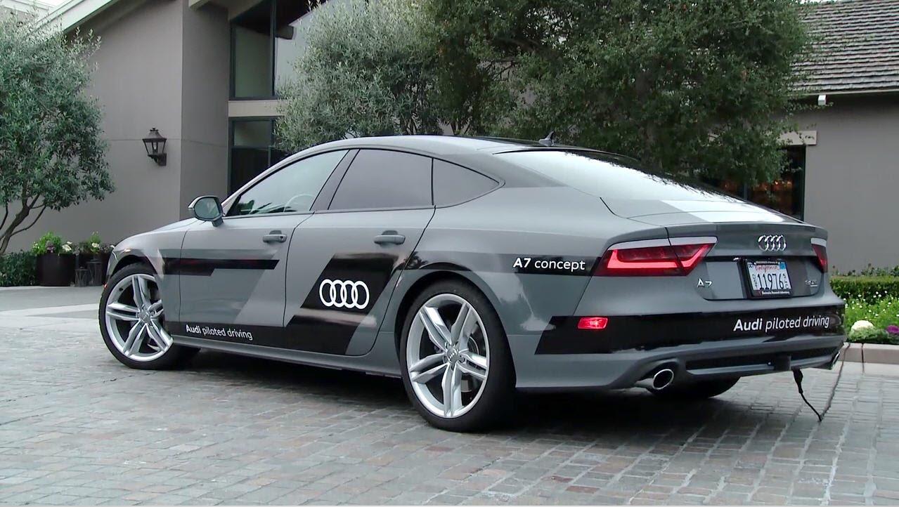 Audi Piloted Driving >> Audi S Autonomous A7 Drives 550 Miles To Ces