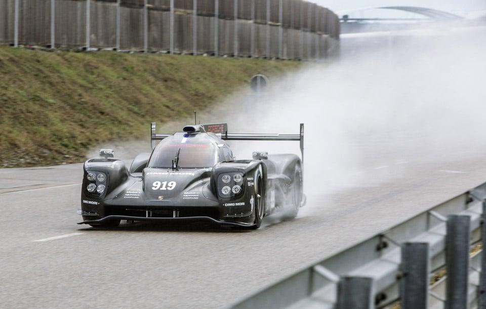 Porsche 919 Hybrid Racecar Updated for 2015