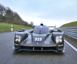 Porsche 919 Hybrid Racecar Updated for 2015