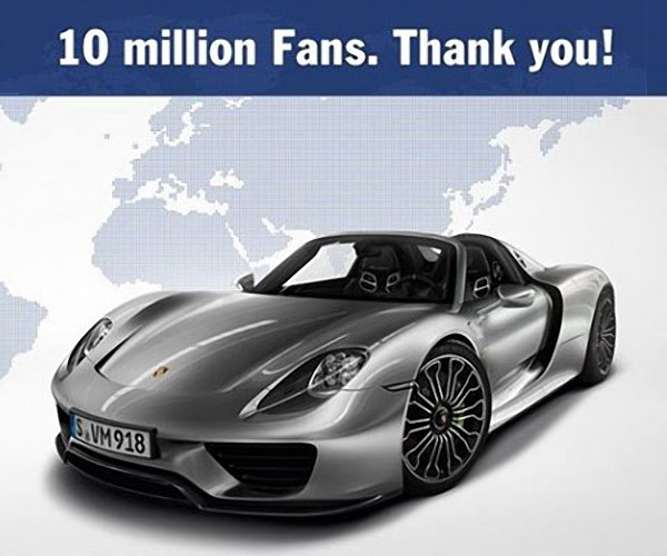 Win a 1,000 Mile Road Trip in a Porsche 918 Spyder
