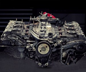 Porsche Flat Six Engine Time-lapse Teardown