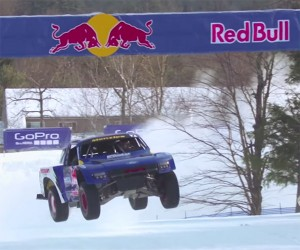 Ride Along in the Red Bull Frozen Rush