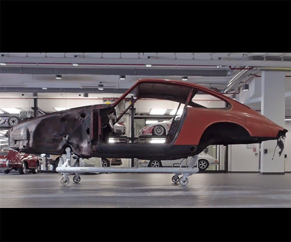 Porsche Restoring 911 Chassis Number 57