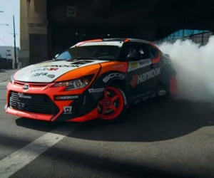 Scion tC RWD Drift Car Tears up LA Streets