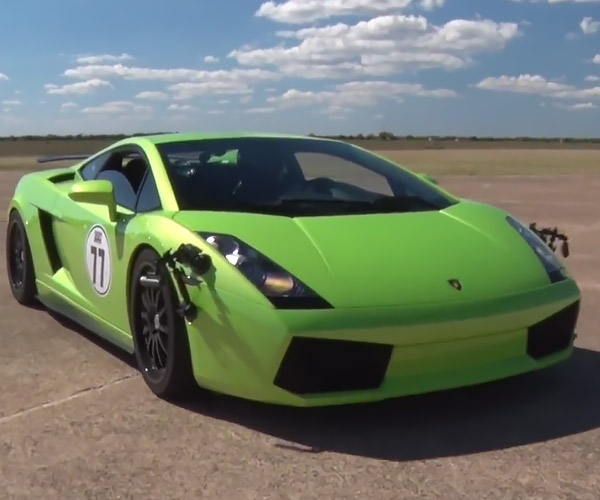 Blow out Your Speakers with This 1800hp TT Lambo