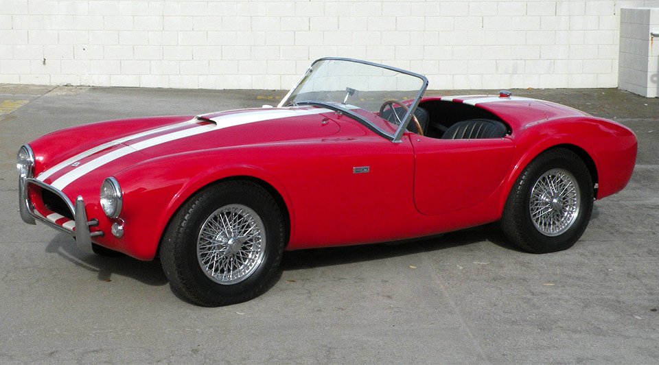 Beautiful Red AC Shelby Cobra Mk1 Turns up on eBay