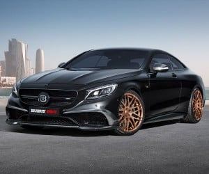 Brabus Crams 850 Horses into the S63 AMG Coupe
