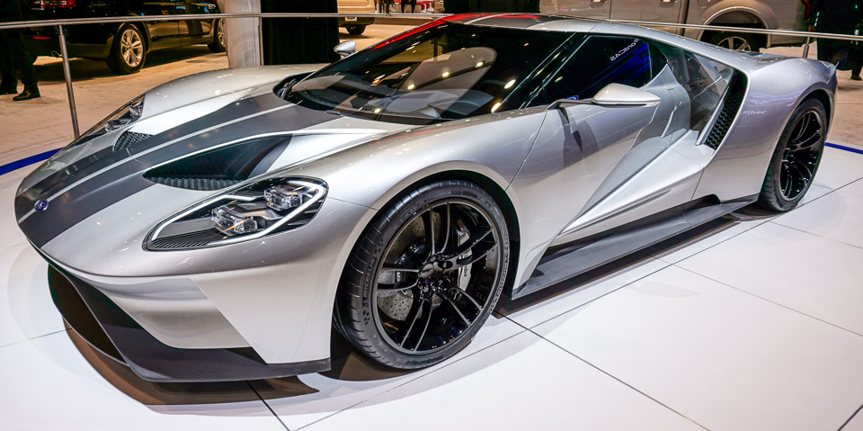 Gallery: 2016 Ford GT in Silver