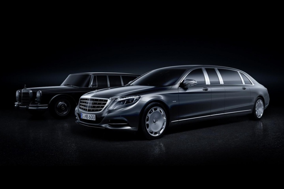 The Mercedes-Maybach Pullman Is Glorious Dictator-Chic