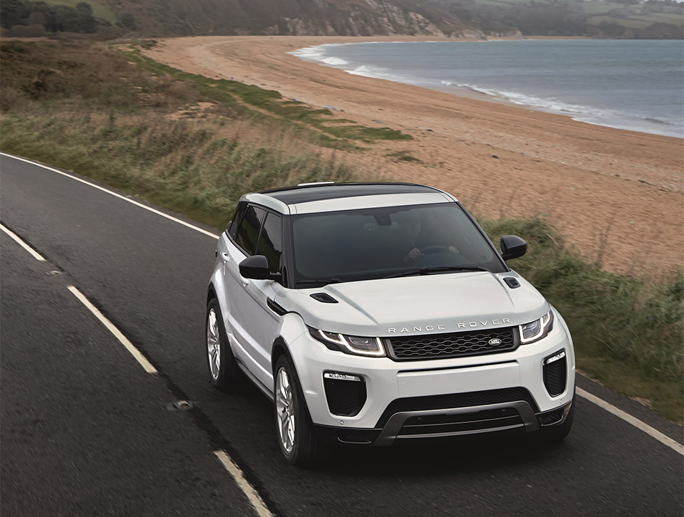 Freshened 2016 Range Rover Evoque Gets Official