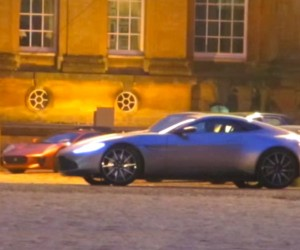 Aston Martin DB10 Spied on Set of New Bond Film