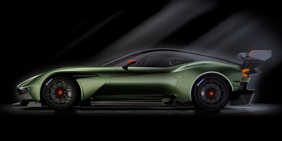 Official Pics of Aston Martin Vulcan are Dead Sexy