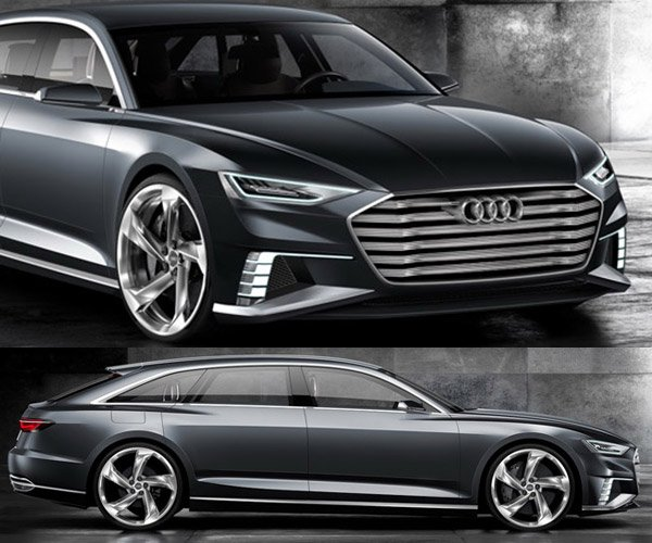 Audi Prologue Avant Shooting Brake Concept is a 455hp Hybrid