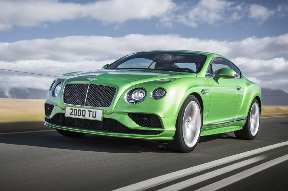 Bentley to Show Updated Continental GT in Geneva