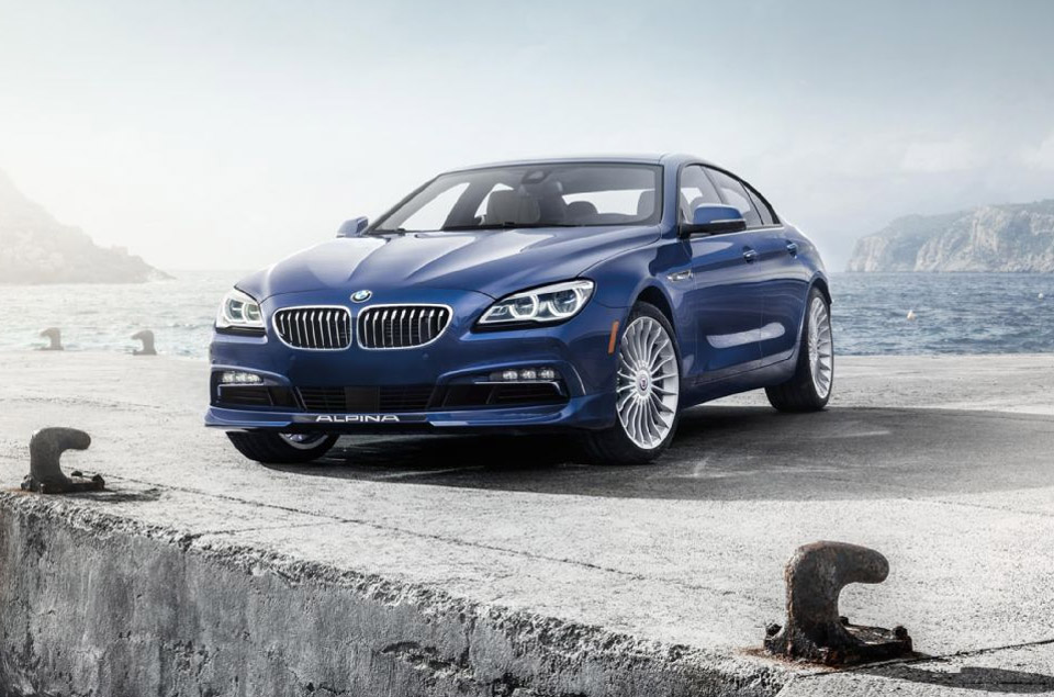 2016 BMW Alpina B6 xDrive Gran Coupe Packs 600hp