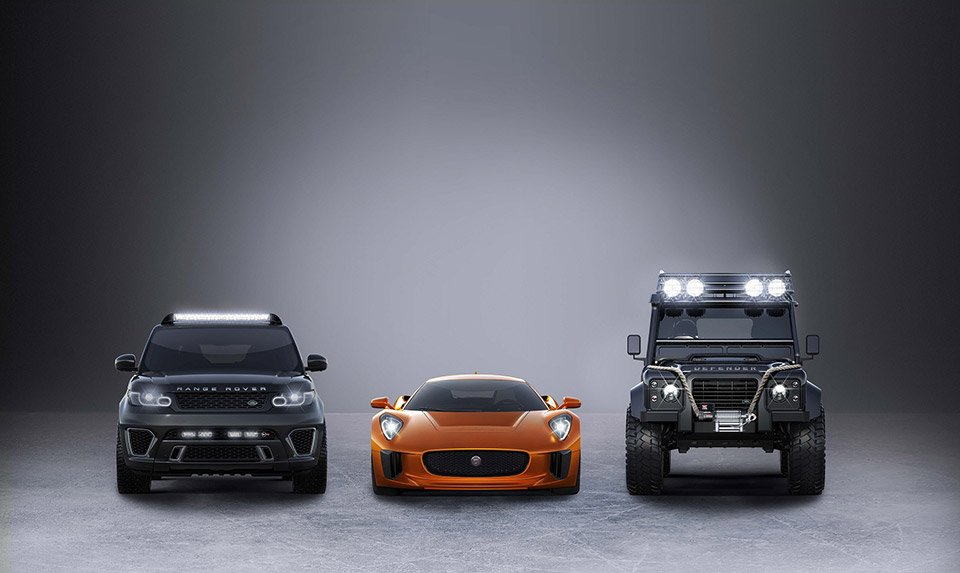 Jaguar & Land Rover in Spectre's Garage for Next Bond Movie