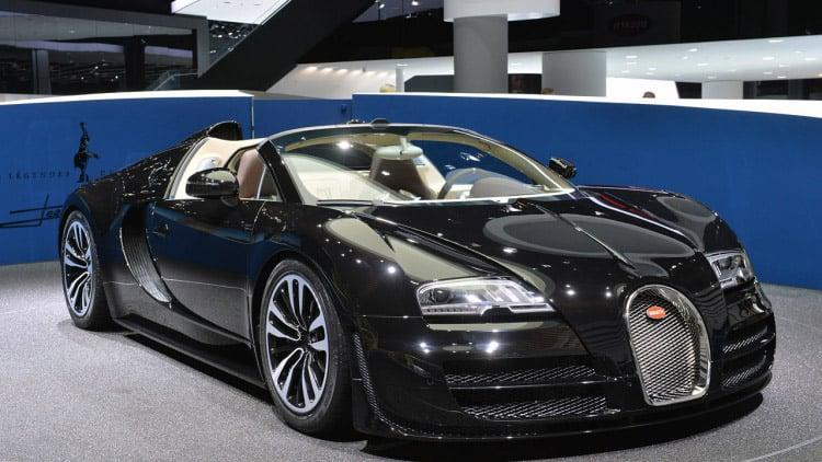 Final Bugatti Veyron Headed to Geneva